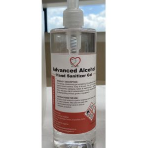 Advanced Alcohol Moisturising Hand Sanitiser available from Doody Engineering
