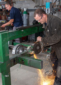 High Quality Fabrication services available from Doody Engineering