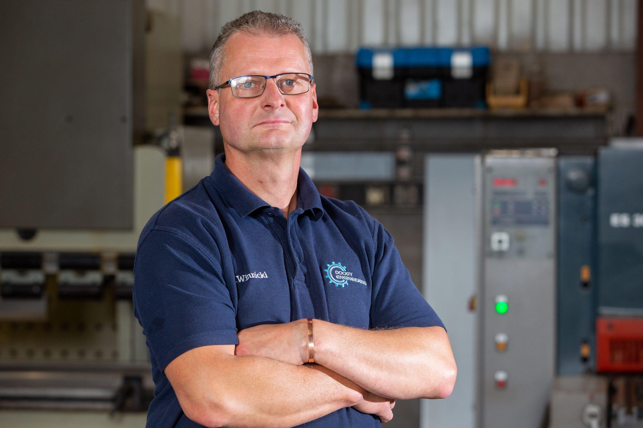 Team member Mariusz Winnicki - Doody Engineering
