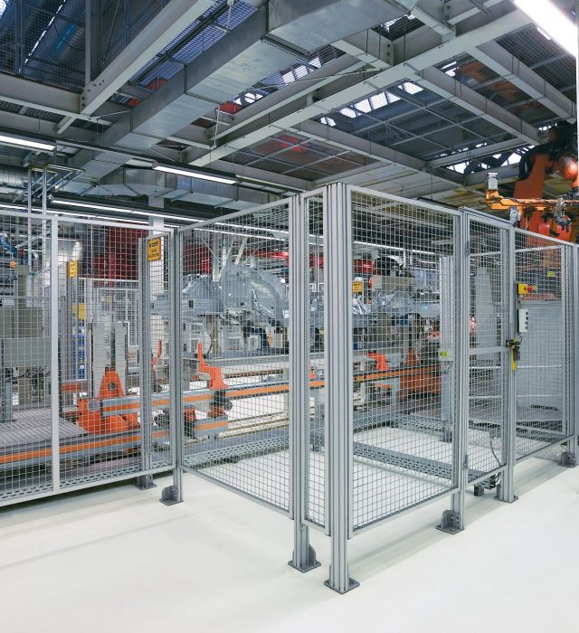 Aluminium Profile Guarding and Partioning from Doody Engineering
