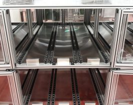 FIFO Storage Rack constant product movement, safeguarding that no inventory spoils or goes to waste from Doody Engineering