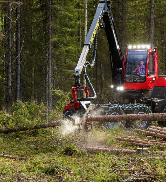 Repair And Maintenance Work in a forest with machinery with Doody Engineering